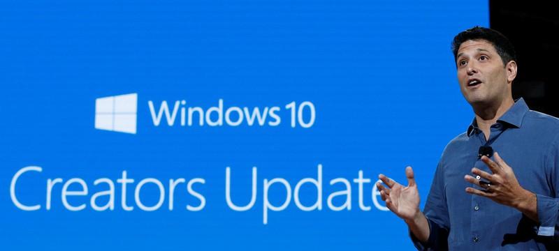 Обновление Windows 10 Creators Update уже можно установить