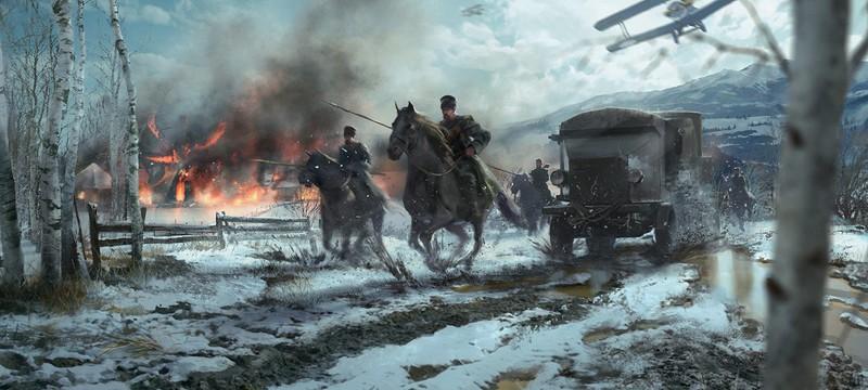 Концепт-арты следующего дополнения Battlefield 1