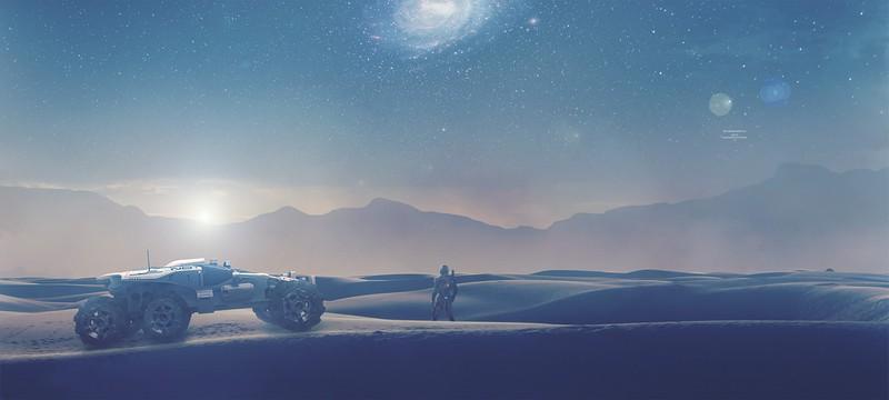 """Не превышайте лимит скорости на Кочевнике Mass Effect Andromeda, иначе останетесь без """"колес"""""""