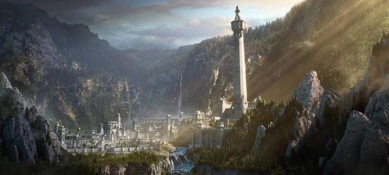 Первый взгляд на Минас Итиль в Middle-earth: Shadow of War