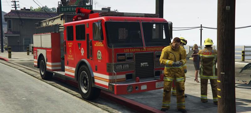 Наблюдение за пожарными в GTA 5 – это чистое комедийное золото