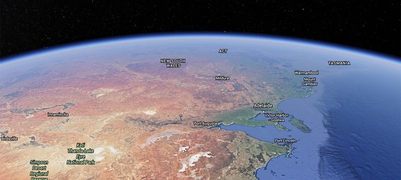 Большое обновление Google Earth — быстрее, красивее и в браузере