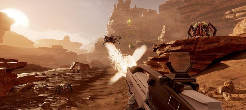 PS VR экслюзив Farpoint ушел на золото