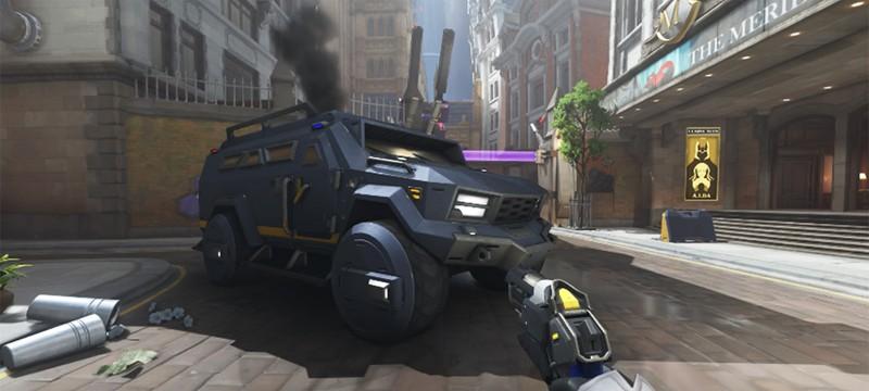 Игроки Overwatch троллят Blizzard из-за колес на автомобиле