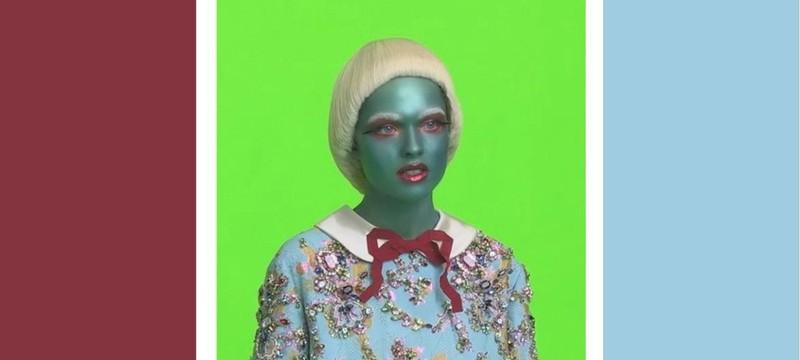Gucci начала снимать пришельцев в своей рекламе