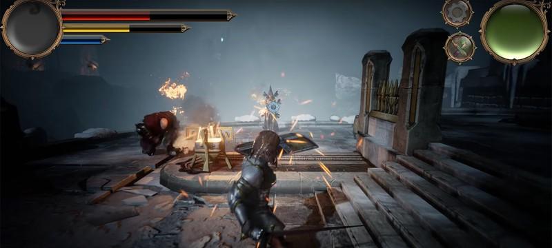 Как выглядит Dark Souls-подобная игра от разработчика-одиночки