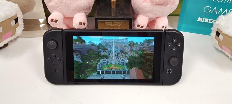 Вот как выглядит Minecraft на Nintendo Switch
