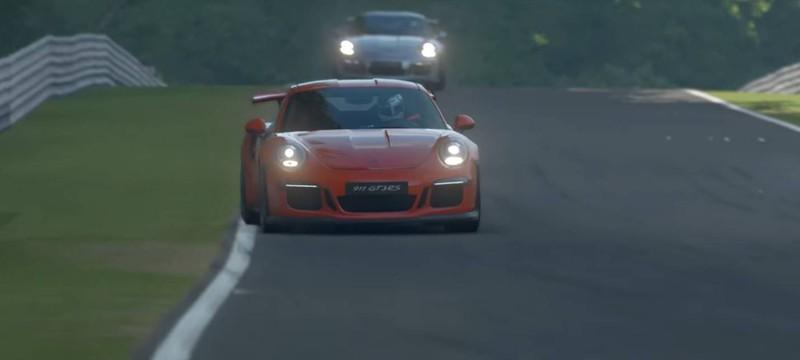 Первое появление Porsche в новом трейлере Gran Turismo Sport