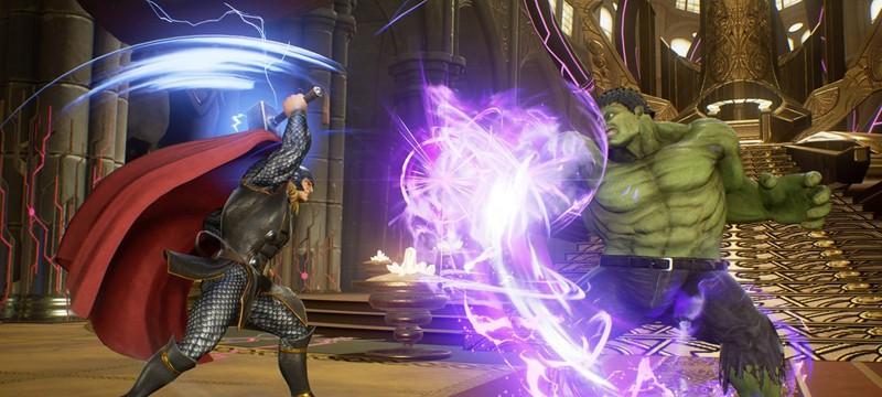Пять минут яркого геймплея Marvel vs. Capcom: Infinite