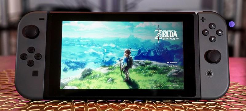 Поставки Nintendo Switch составили 2.74 миллиона, продажи новой Zelda — 3.84 миллиона