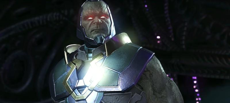 Дарксайд уничтожает Брейниака в новом видео Injustice 2