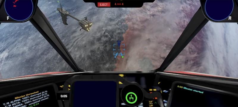 Новое геймплейное видео фанатского Star Wars: X-Wing на движке Unity