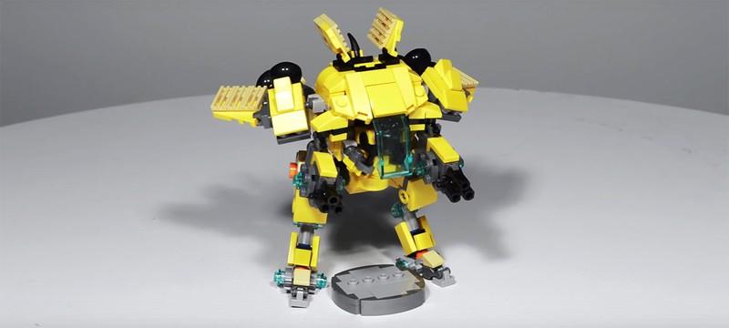 Из Lego можно собрать собственную мини-версию меха D.Va из Overwatch