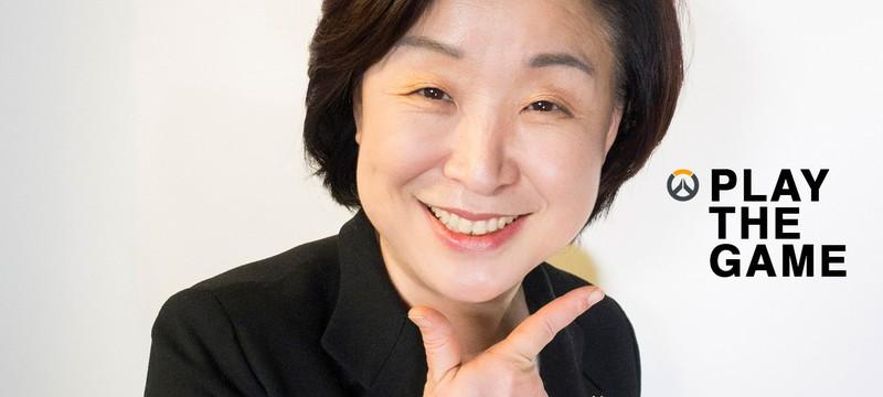 Корейский политик использовала Overwatch в своей избирательной кампании