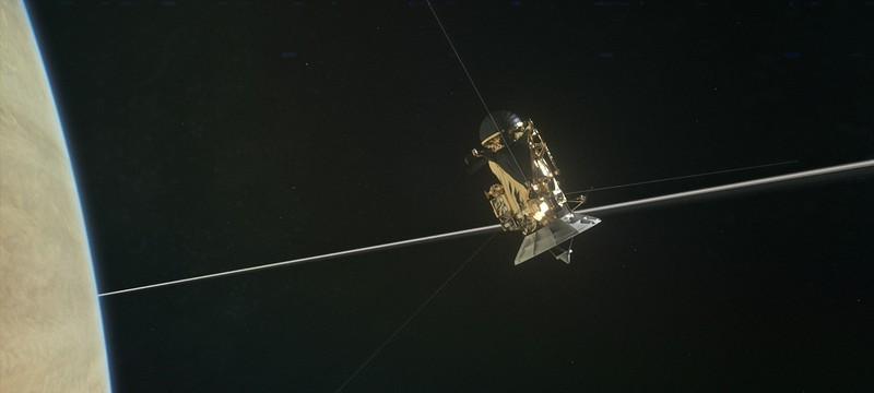 """Что увидел """"Кассини"""" во время первого сближения с Сатурном"""