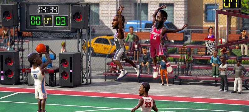 NBA Playgrounds вышла на всех платформах