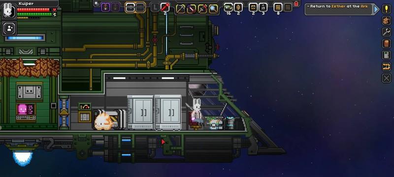 Новое обновление Starbound позволит строить космическую базу