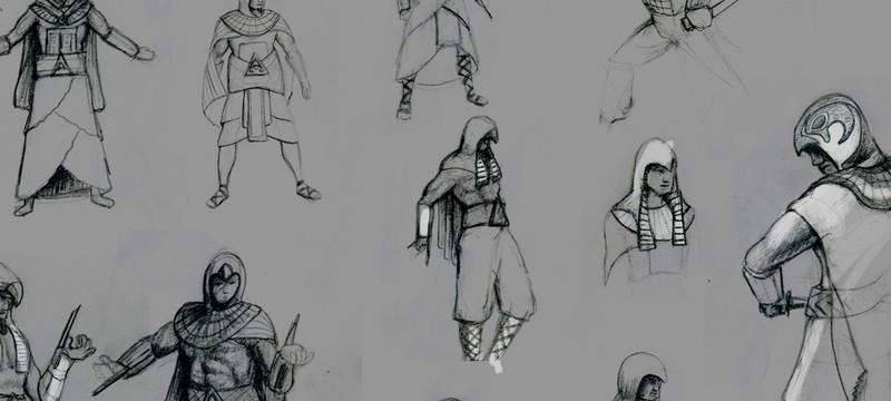 Автор первого изображения Assassin's Creed Origins рассказал подробности игры