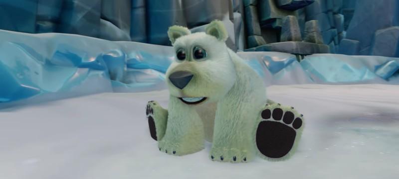 Полярный медведь в Crash Bandicoot N. Sane Trilogy