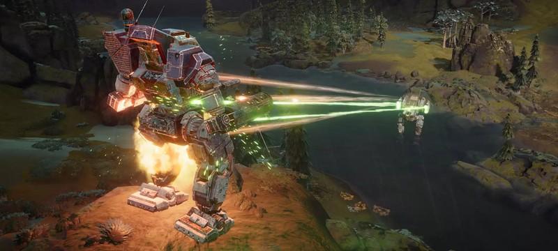 Час геймплея из мультиплеерной беты BattleTech