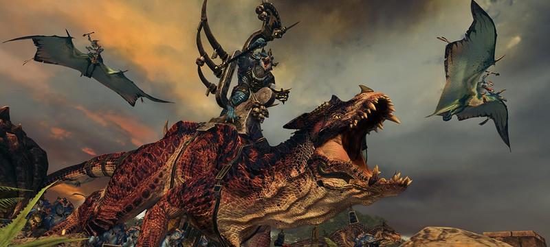 Подробный разбор представителей людей-ящеров в новом видео Total War: Warhammer 2