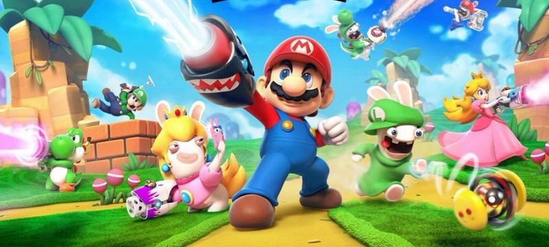 Первый арт кроссовера Mario + Rabbids Kingdom Battle