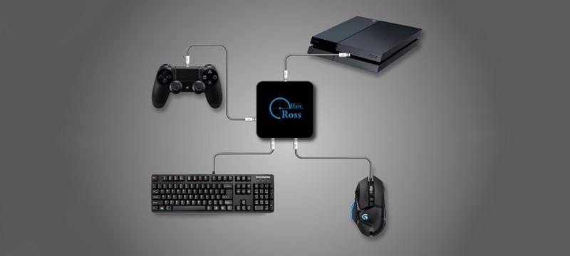 Клавиатура и мышь для консолей при помощи ReaSnow Cross Hair
