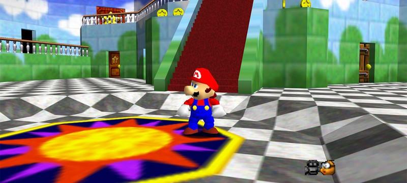 В Super Mario 64 теперь можно играть по сети — до 24 игроков