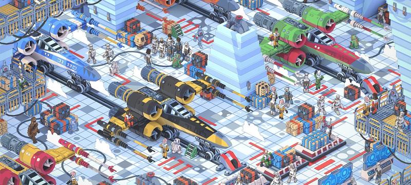 Если бы Star Wars была мобильной тактической игрой, то могла бы выглядеть так