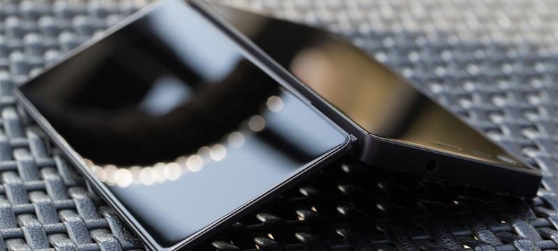 Первое фото складного флагманского смартфона ZTE с двумя дисплеями