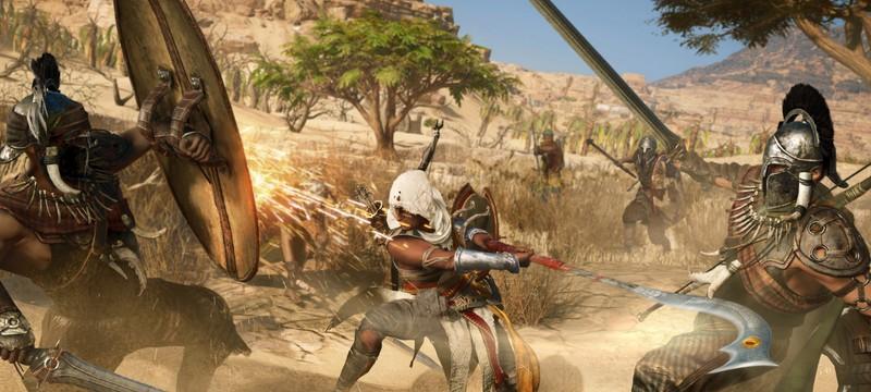Актер озвучки главного героя Assassin's Creed Origins не подозревал кого он сыграет