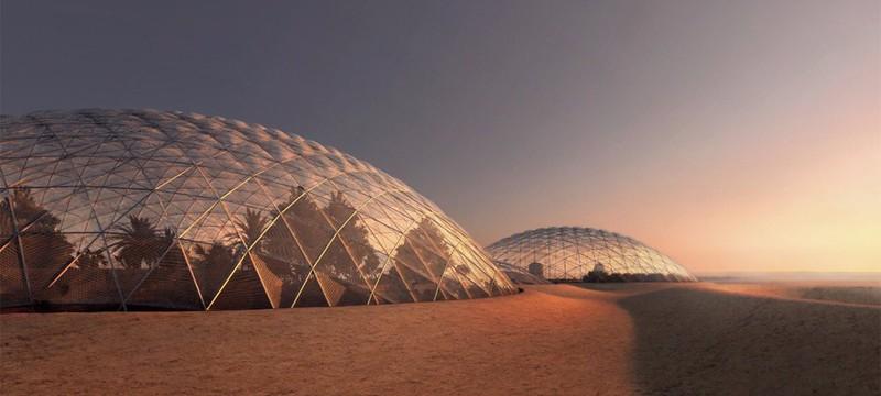ОАЭ построит марсианский город на Земле