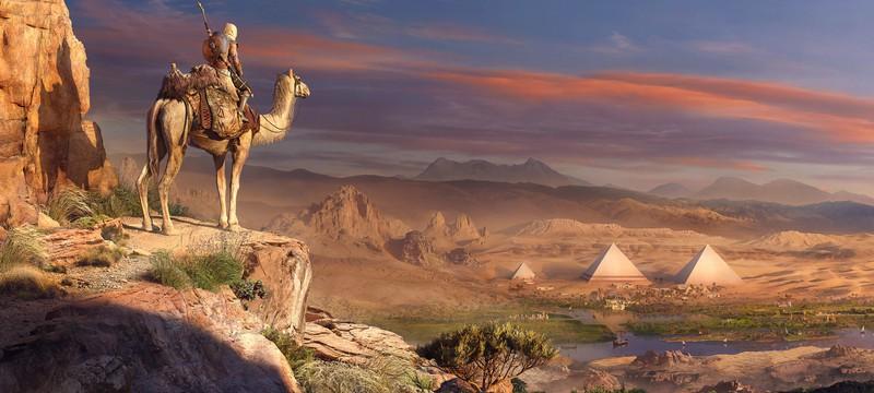 Assassin's Creed Origins будет весить 42 Гб на Xbox One