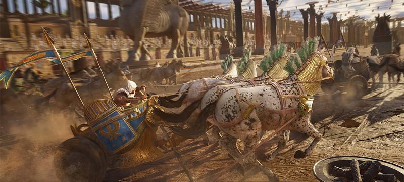 20 минут геймплея Assassin's Creed Origins с Xbox One X