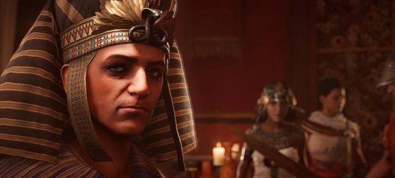 Сюжетная кампания Assassin's Creed Origins займет порядка 50 часов