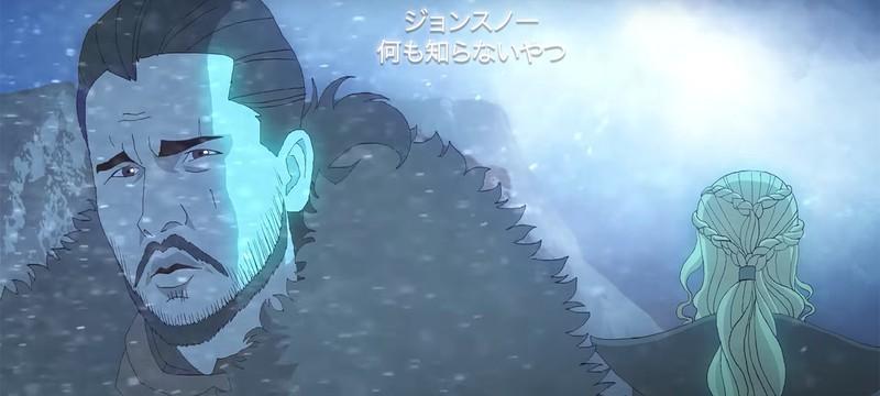"""""""Игра престолов"""" в виде аниме выглядит неожиданно круто"""