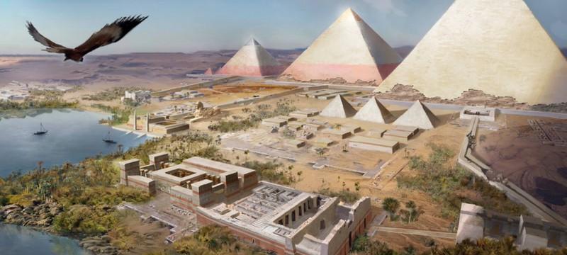 Сравнение локаций Assassin's Creed Origins с реальным Египтом