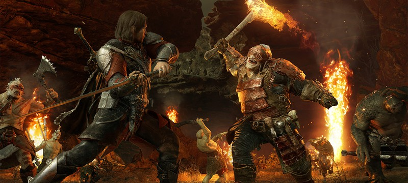 Middle Earth: Shadow of War на PC весит 100 Гб