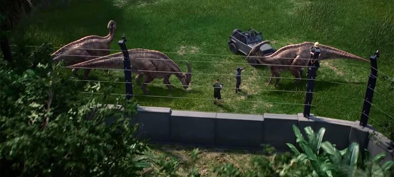 Первый геймплейный трейлер Jurassic World Evolution