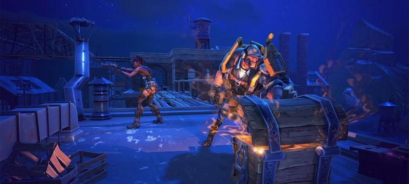 """В """"Королевскую битву"""" Fortnite играет 525 тысяч геймеров одновременно"""