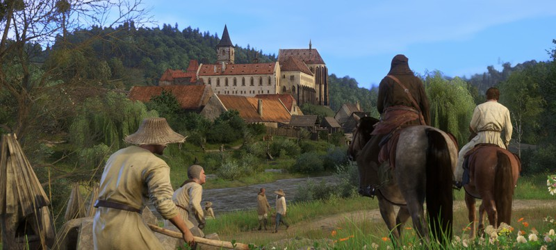 30 минут геймплея Kingdom Come: Deliverance с PS4 Pro