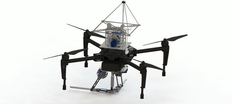 Этот дрон подойдет для Человека-паука, он тоже умеет стрелять паутиной