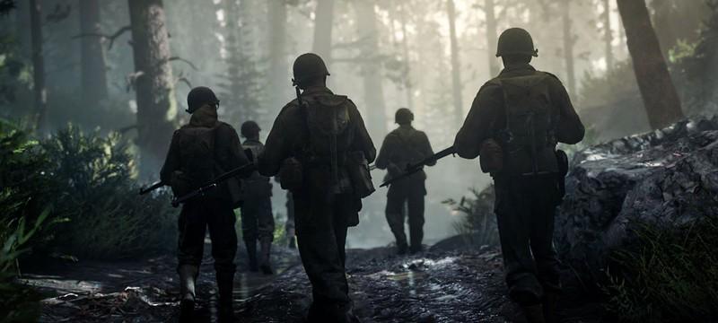 Геймеры назвали Call of Duty: WWII самой ожидаемой игрой праздничного сезона