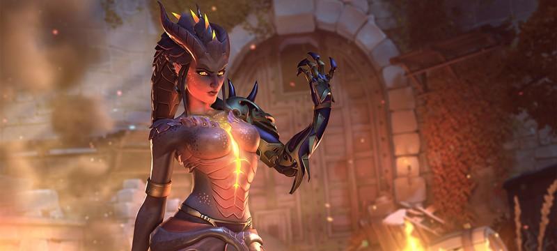 Вечерний стрим Shazoo: Хэллоуин в Overwatch с Амико