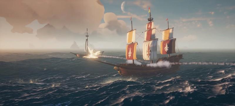Новый трейлер Sea of Thieves рассказывает о сетевой игре