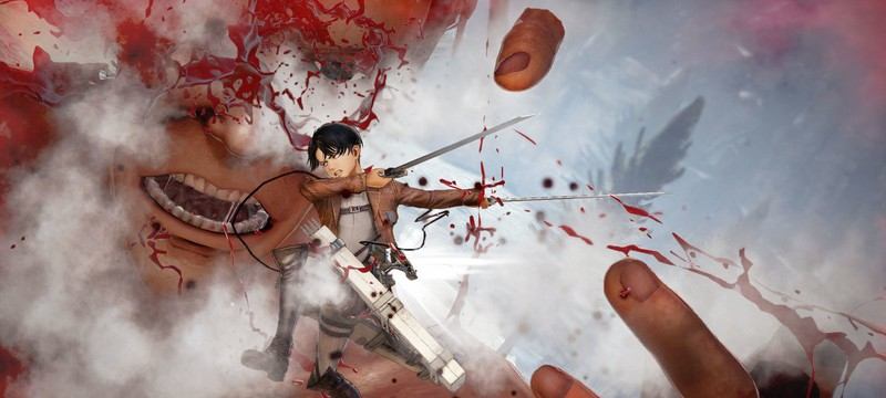 Геймплей Attack on Titan 2 с PS4