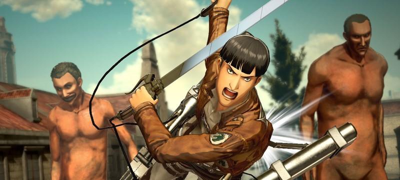 Сюжетный трейлер и дата релиза Attack on Titan 2