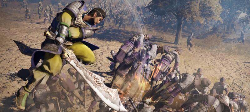 Шесть новых экшен-трейлеров Dynasty Warriors 9