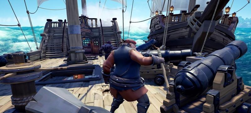 В альфу Sea of Thieves сыграло 356 тысяч геймеров