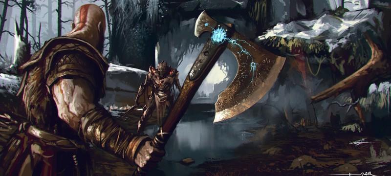 Топор Кратоса изменил облик новой God of War